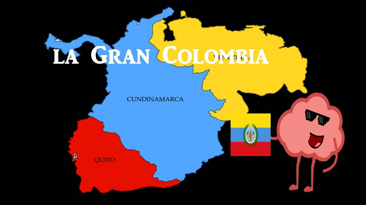 Historia Breve De La Gran Colombia