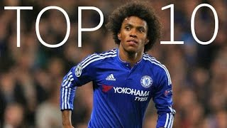 Willian Borges - Top 10 Goals For Chelsea FC - HD
