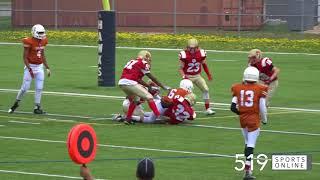 OPFL Junior Varsity - Durham Dolphins vs Cambridge Lions