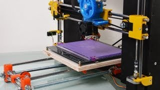 scratchbuilt 3d printer reprap prusa i3