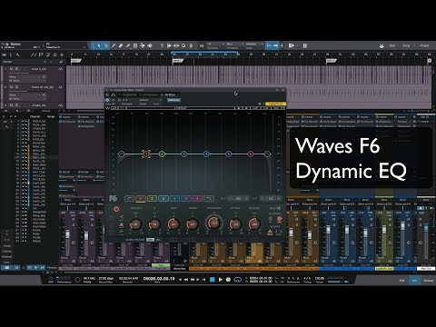 mixing with Waves F6 Dynamic EQ