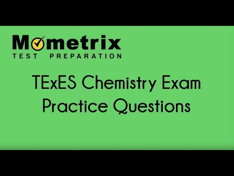 Free TExES Chemistry 7-12 (240) Practice Questions