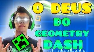 O DEUS do GEOMETRY DASH ! - Todos os níveis (DESAFIO)