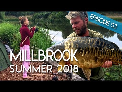 Carp Fishing At Millbrook, Staffordshire | Summer 2018