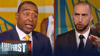 Nick and Cris on how Boogie Cousins will fit on the Warriors | NBA | FIRST THINGS FIRST