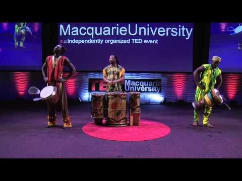 Africa's Original Mobile Phone | African Beat | TEDxMacquarieUniversity