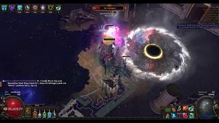 [POE 3.0.1] inquisitor. Elemental Blade Flurry. vs The Shaper.