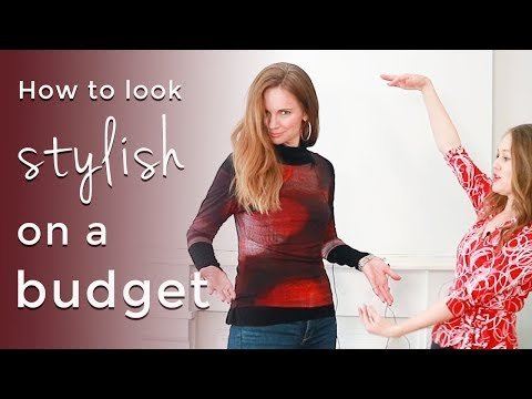 Style makeover for women over 40 - budget fashion for women over 40