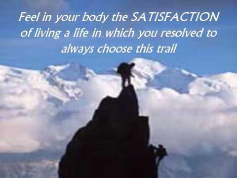 The path i choose to take