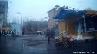 Дождь. Улицы Мелитополя. Видеорегистратор Aspiring GT-11. Видео Мелитополь.(, 2015-01-27T02:00:29.000Z)
