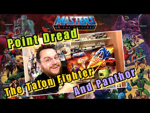 Masters Of The Universe Are Back - Panthor At Point Dread (Mega Construx MotU)