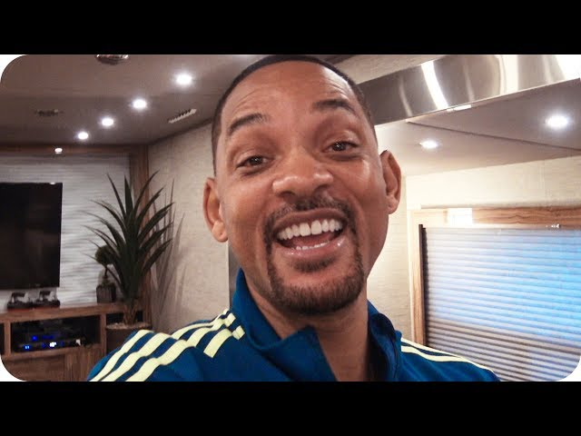 Will Smith wants you to hang with him on 'Bad Boys for Life' set