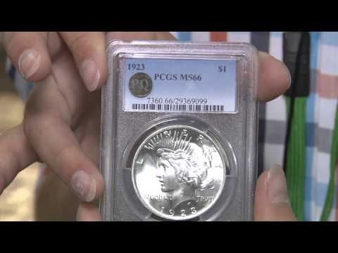 CoinWeek Classic: Young Coin Collector Buys Gem Peace Dollar at ANA Convention.