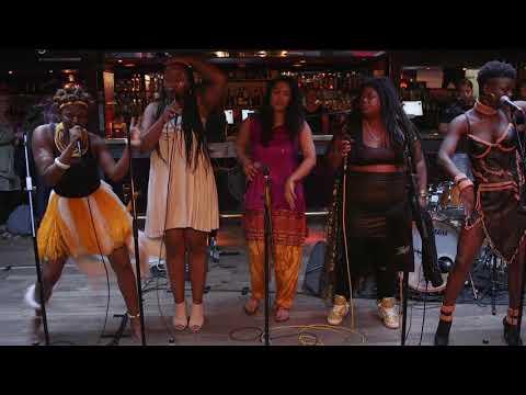 GRRRL - Sangoma (live at Ronnie Scotts bar)