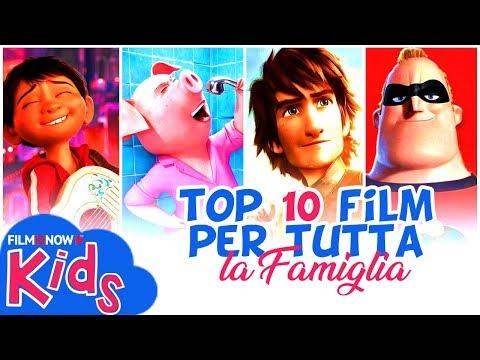 TOP 10 MIGLIORI FILM D'ANIMAZIONE da guardare in FAMIGLIA