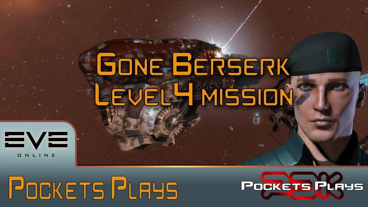 EVE Online: Gone Berserk - Dominix - Level 4 mission