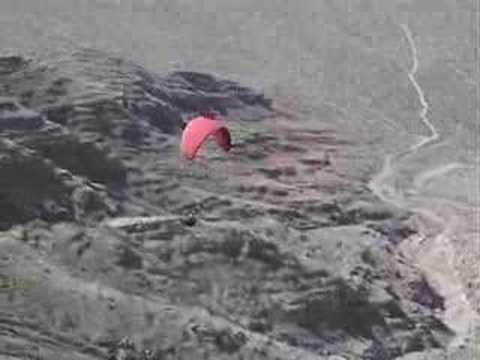 Flying Tabletop - Paragliding Las Vegas
