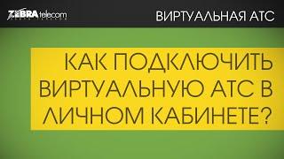 Подключение виртуальной АТС в личном кабинете ЗебраТелеком(, 2016-01-27T14:20:50.000Z)