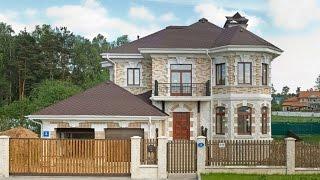 видео Проекты особняков и вилл – лучшие цены на готовые проекты в России