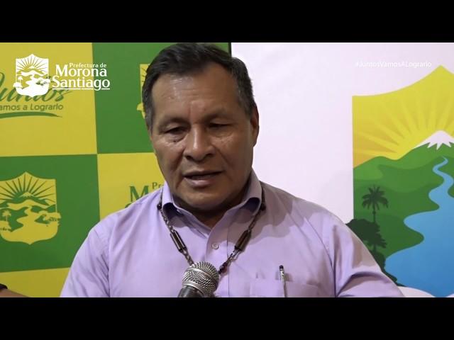 Lanzamiento de la marca corporativa 2019 - Prefectura de Morona Santiago