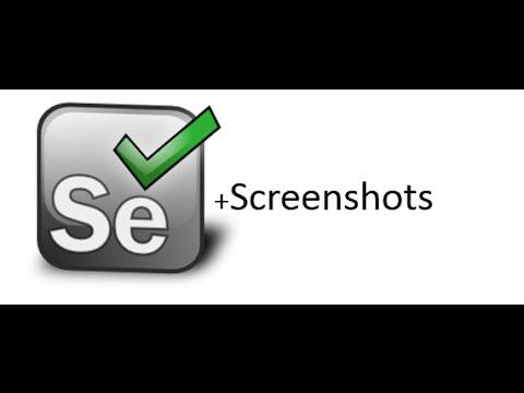 תוצאת תמונה עבור selenium webdriver screenshot