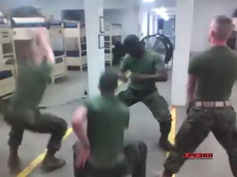USA  marine dance