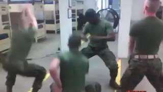 USA  marine dance
