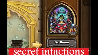 Galakrond's Awakening Dr Boom boss secrets and hidden interactions