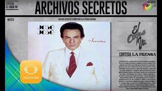 Archivos Secretos de José José | El Coque va! | Televisa Televisión