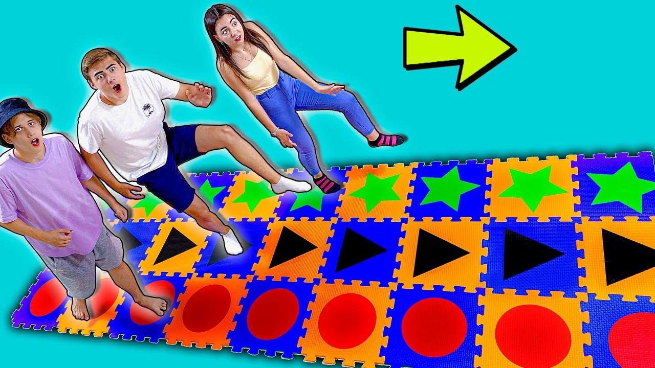 Кто Первый Пройдет Гигантскую Геометрическую Игру Получит 1000$