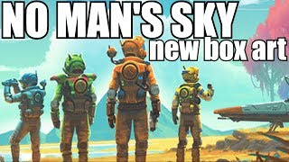 No Man's Sky! Hello Games sent us a package!