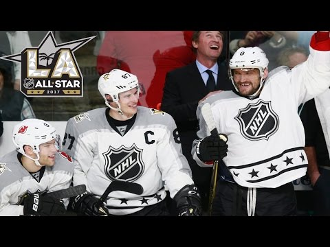 Pacific vs Metropolitan | 2017 NHL All-Star Game | Highlights | Jan. 29, 2017 [HD]