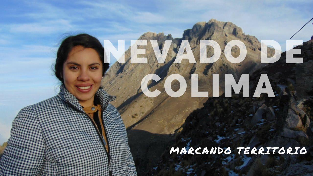 NEVADO DE COLIMA - VOLCÁN MARCANDO TERRITORIO - EO027