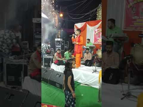 #Yogesh #Shalu Live Ganesh Vandana #ganpatti #bappa #moriya  (jagran In Jalandhar City
