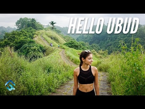 UBUD is Magical - Tegallalang Rice Terraces & Campuhan Ridge Hike