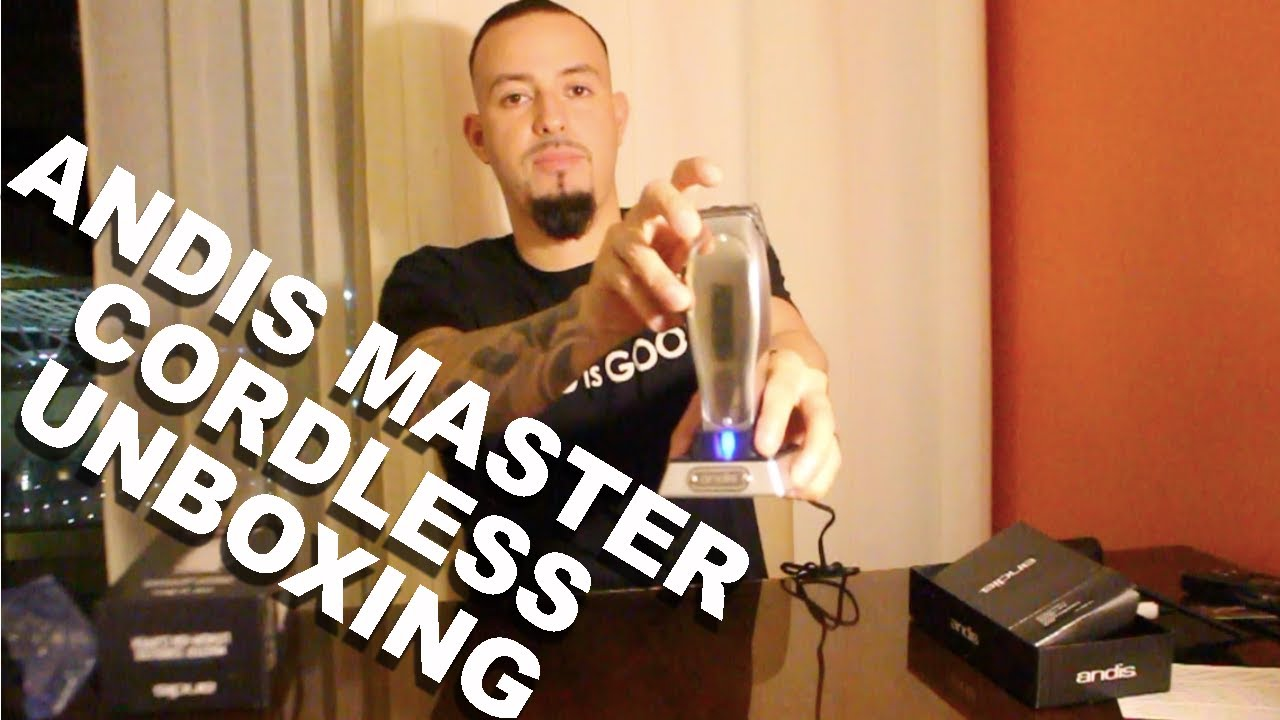 New Andis Master Cordless Unboxing!