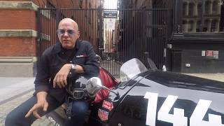 Alex Roy will be joining the Cannonball Memorial Run for their cros...