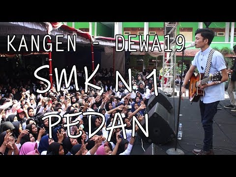 Dewa19 - Kangen   Adlani Rambe Live Pentas Seni HUT SMK N1 Pedan, Klaten (30/01/2019 Pecahh!!!)