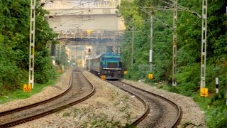 Late Running  17307/Basava Express  With  Repainted WDG-4  UBL  12096