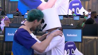 Ninja and Marshmello Win $1,000,000 For Charity! Epic Victory! thumbnail
