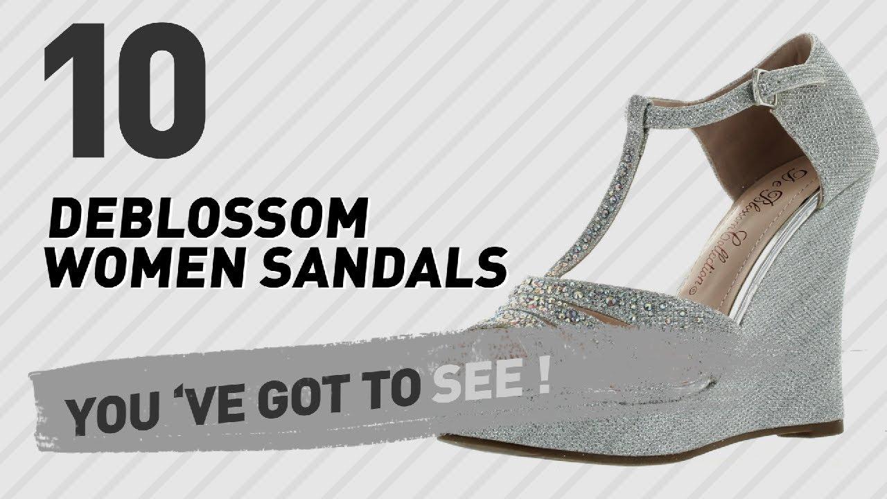 d224db704d0 Deblossom Women Sandals    New   Popular 2017 - YouTube
