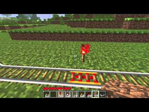 how to make a minecraft rail