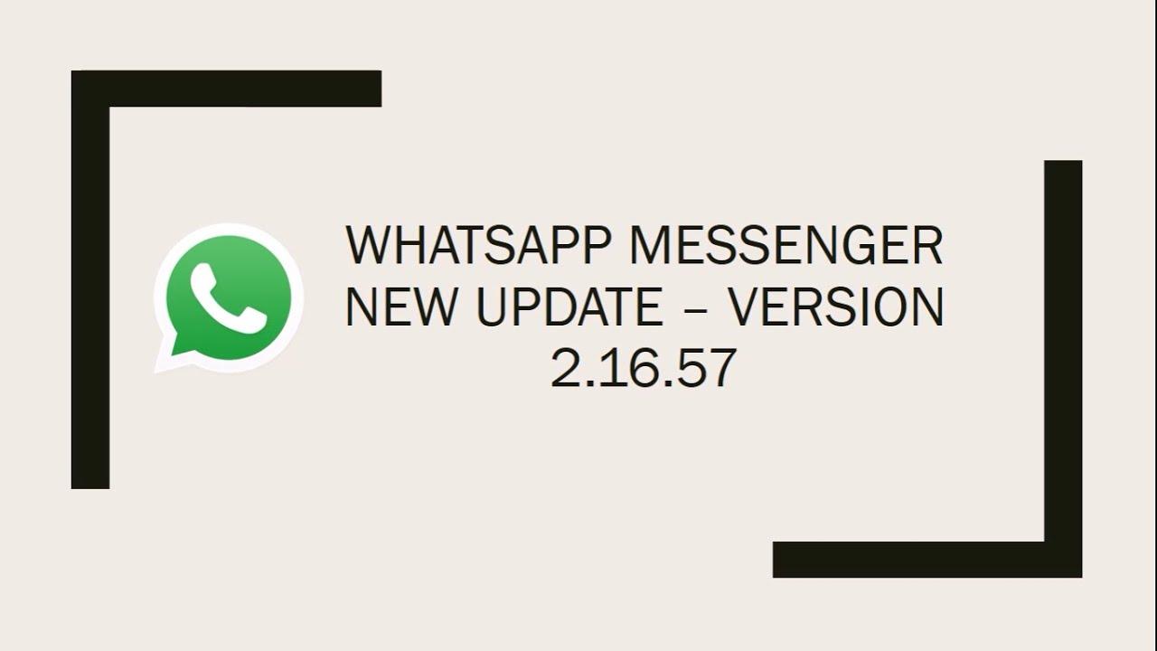 WhatsApp Google Play Latest Version