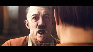 Wolfenstein  The New Colossus - Casting with Adolf Hitler... (Mature Content / French)