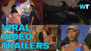 Kimmel Remakes Viral Videos as Hollywood Movie Trailers | What's Trending Now
