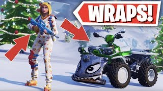 'NEW' FORTNITE WEAPON / VEHICLE SKINS (WRAPS) in SEASON 7 (Fortnite: Battle Royale)