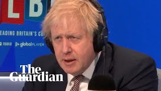 Boris Johnson declines to answer question about his children