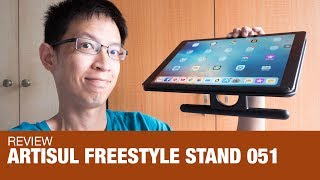 Review: Artisul Freestyle Stand 051 (Great for tablets)