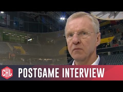 SC Bern vs Red Bull Munich postgame interviews