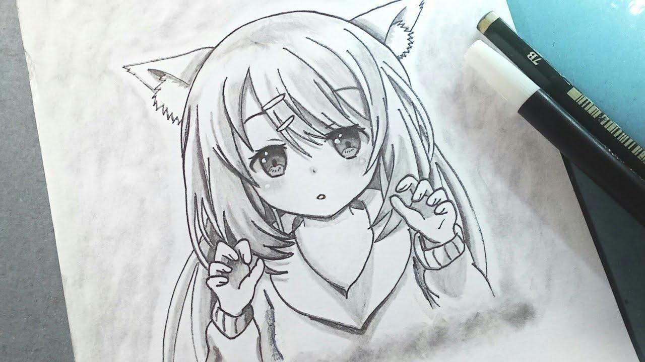 Cara Menggambar Anime Loli Cute How To Draw Anime Youtube